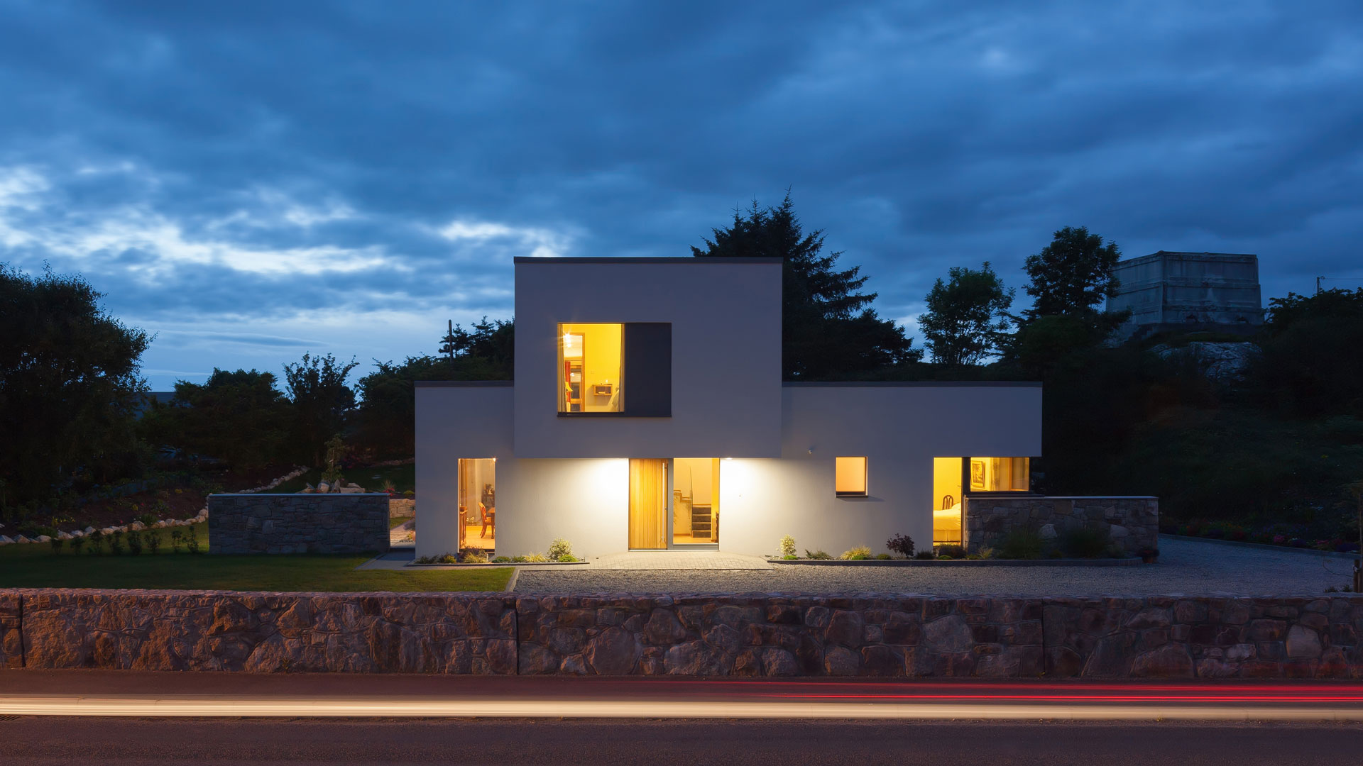 Greentec Ecological House. Architect, Helena McElmeel Architects. Supplier, Moylough Concrete Products. Photographer, Kelvin Gilmore