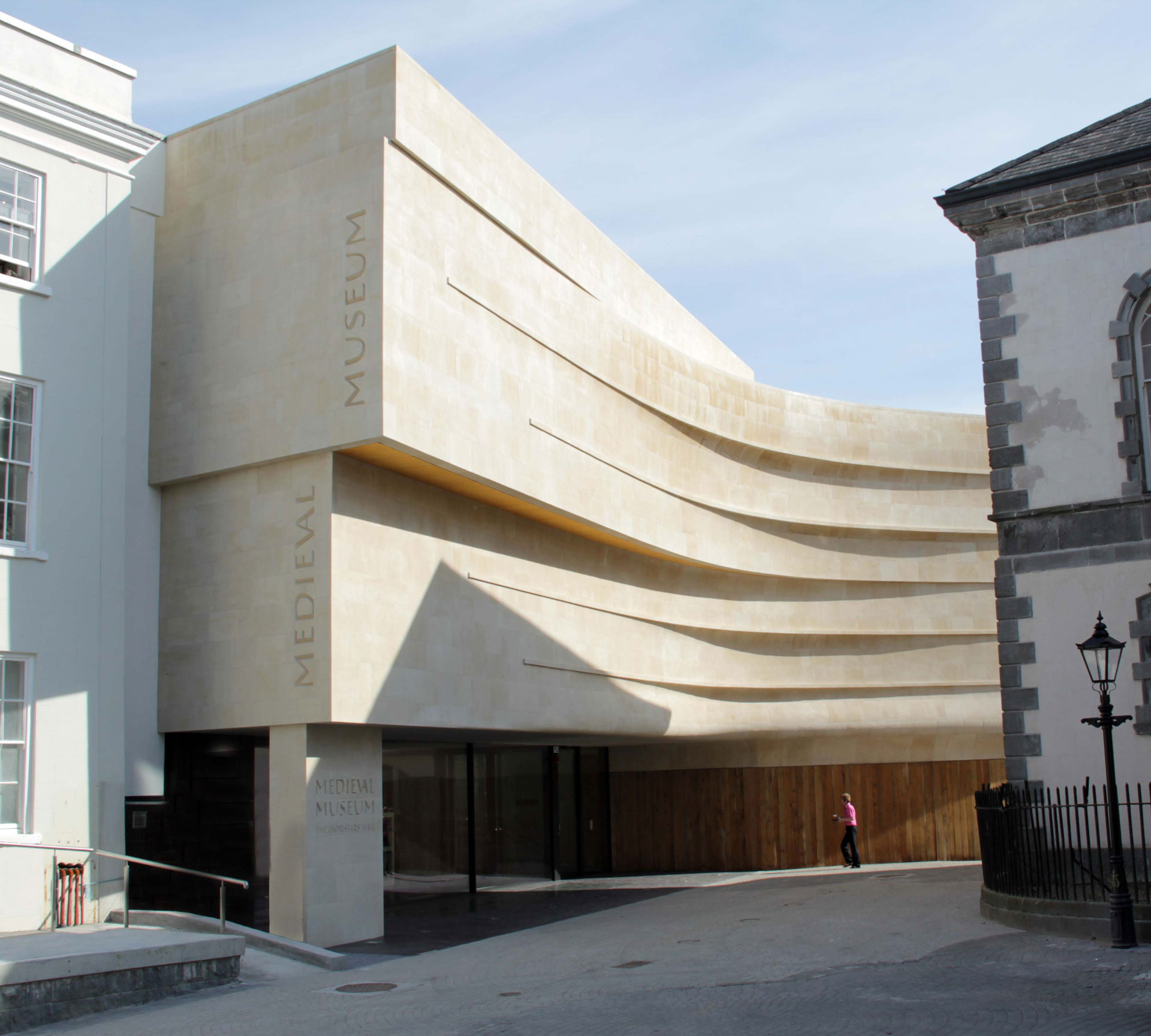 Waterford Medieval Museum. Client, Waterford City Council. Engineer, Frank Fox & Associates. Architect, Waterford City Council