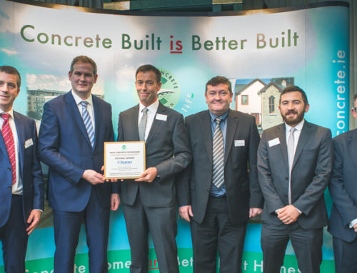 Minister Kyne presents Irish Concrete Federation's Sustainable Quarry Awards 2017
