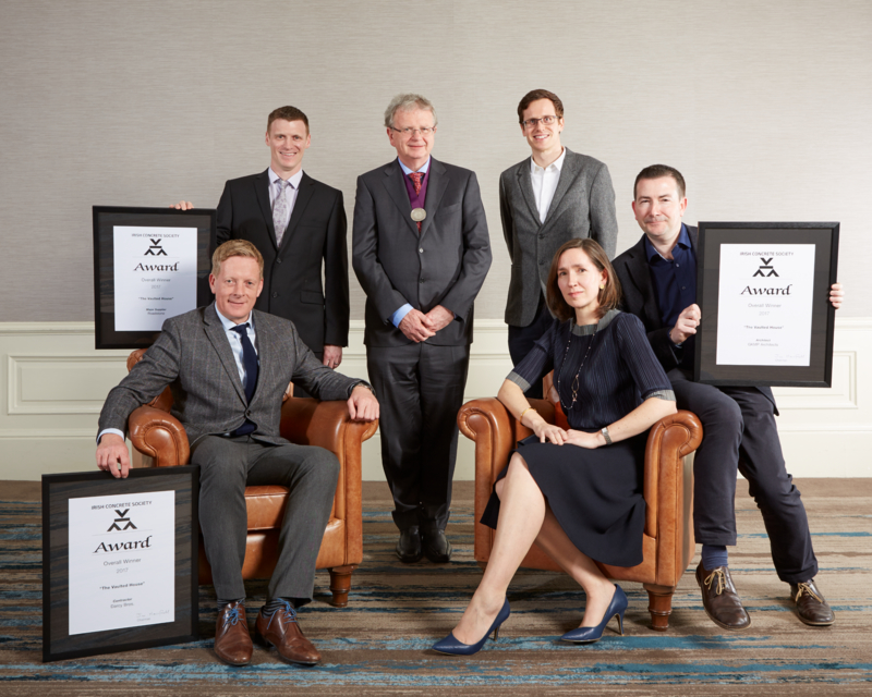 ICF MEMBERS FEATURE PROMINENTLY AMONG WINNERS IN IRISH CONCRETE SOCIETY AWARDS 2018