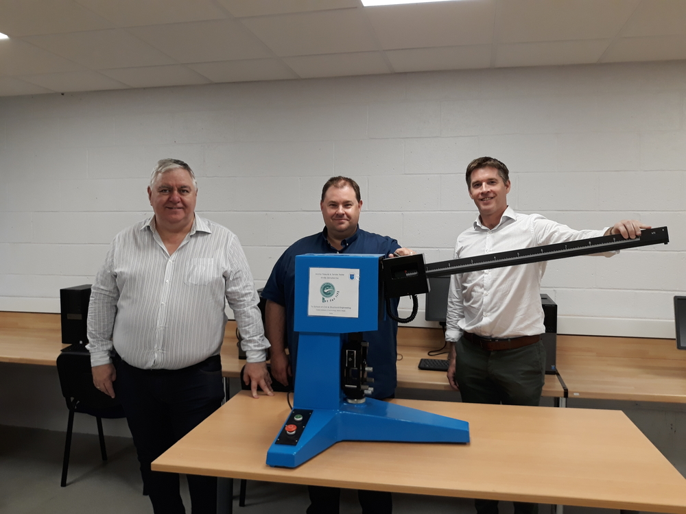 ICF PRESENTS CONCRETE TESTING LABORATORY EQUIPMENT TO DIT