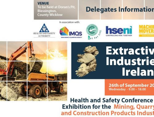 Extractive Industries Health & Safety Conference & Exhibition 26th Sep 2018