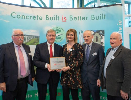 Minister Pat Breen Presents Irish Concrete Federation Health and Safety Awards 2018