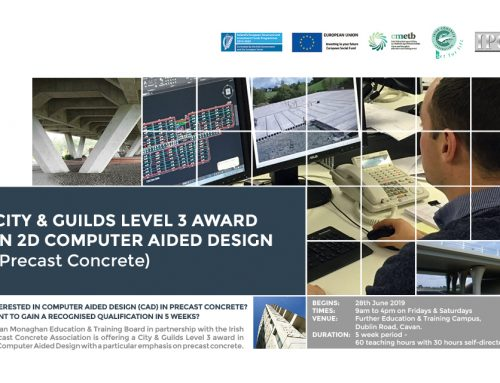 City & Guild Level 3 Award in 2D Computer Aided Design (Precast Concrete)