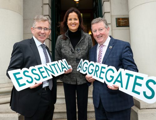Minister Sean Canney launches ICF Publication on Essential Aggregates